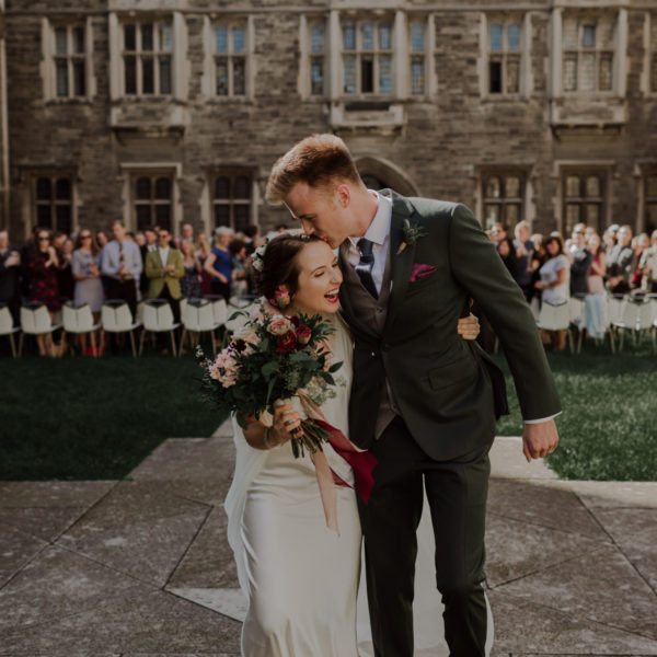 Wildly Romantic Vintage Wedding at Hart House & Distillery District