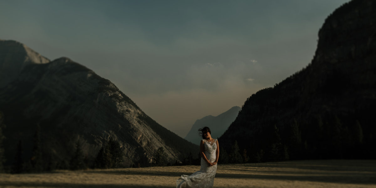 An Intimate Banff Alberta Wedding